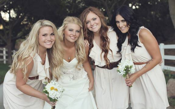 Belts bridesmaids